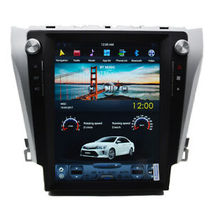 12 1 Android 7 1 Radio Tesla Vertical Screen Car Gps For Toyota Camry 2012 2016
