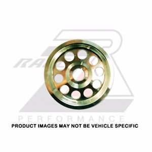 Ralco Rz Underdrive Crank Pulley For Acura Mdx Rl Tl Accord 03 08 J32a J35a