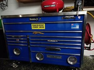 Snap On Toolbox Mechanics Chest Includes Tools