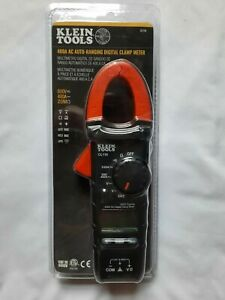 Klein Tools Model Cl110 400 Amp Ac Auto ranging Digital Clamp Meter Brand New