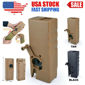 Airsoft Tactical Speed Loader for Hand Crank Magazine Quick Loader 1000 Rounds $32.04