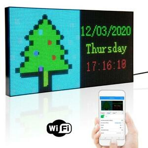 Dc5v Portable Led Open Sign Neon Sign Board Programmable Led Display Panel