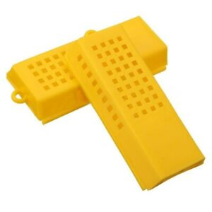 Cage Beekeeping Queen Extended Plastic Trap Case Catcher Yellow Moving Kit 10x