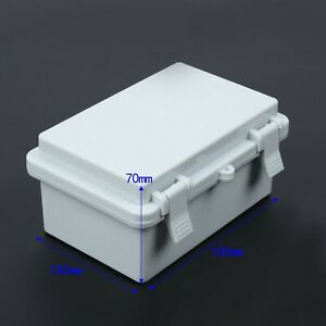 New Waterproof Enclosure Shielding Electronic Junction Box Terminal Cable Cover
