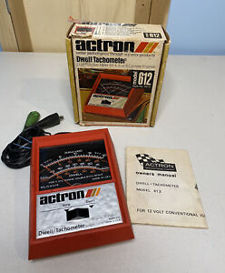 Actron Dwell Tachometer Model 612 With Manual Tested