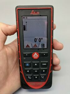 Leica Disto E7500i Laser Distance Meter W Bluetooth Tested Good Cond