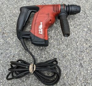 Hilti Te 6 c Corded Sds Plus Rotary Chipping Hammer Drill Tool Good Cond
