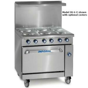 Imperial Ir 6 e 36 In 6 element Electric Range W Standard Oven