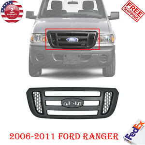 Grille Textured Shell And Black Insert For 2006 2011 Ford Ranger