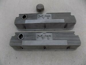 Vintage Mickey Thompson Valve Covers Ford 260 289 302 351 Sbf Hot Rod Gasser