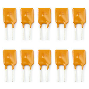 10pcs Ptc Resettable Fuses Thermistor Polymer Self recovery Fuses 30v 3a