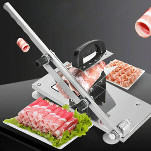 Multi function Beef And Mutton Roll Slicer Manual Frozen Meat Slicer Meat Food