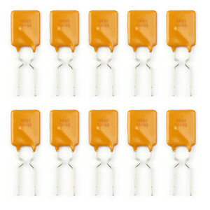10pcs Ptc Resettable Fuses Thermistor Polymer Self recovery Fuses 30v 1 85a