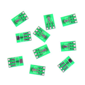 10pcs Double side Smd Sot223 To Dip Sip3 Adapter Pcb Board Diy Conver Yjfi