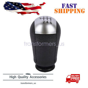Black 6 Speed Car Gear Stick Shift Knob For 2011 2012 Ford Mustang Us