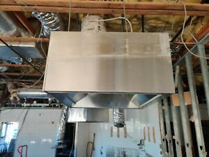Captiveaire Commercial Kitchen Hood 45 64 6 And 10 Ul Listed W tag