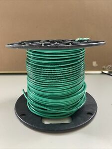 Southwire 12 Green Thhn Or Thwn Copper Wire 600v partial Roll