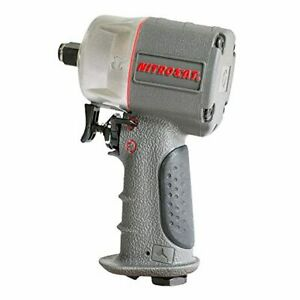 Aircat 1076 Xl 3 8 Compact Composite Impact Wrench Silver Grey