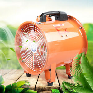 110v Atex Rated Ventilator Explosion Proof Axial Fan 10 Extractor Fan Blower