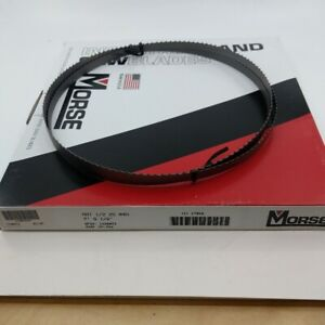Morse Band Saw Blade 1 2 In Blade Width 93 1 2 In Blade Length 4 Teeth Per In