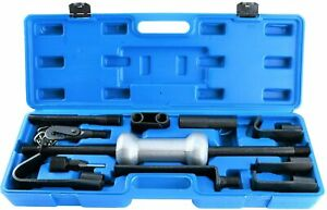 13pc Dent Puller With 10lb Slide Hammer Auto Body Truck Repair Tool Kit Heavy Duty