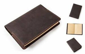 A5 Journal Notebook Diary Leather Daily Notepad Cover Leather Journal