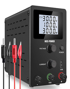 Nice power Bench Power Supply 0 30v 0 10a Adjustable Dc Power Supply Kit 4 di