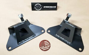 Sr Solid Engine Motor Mounts Pair For 1986 1995 Mustang Lx Gt 5 0l 5 8l 302