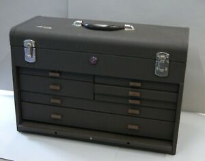 Kennedy 520 Machinist Toolbox 7 Drawer Tool Chest W Key New Old Stock L 3691