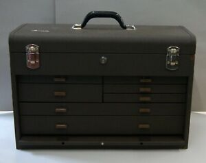 Kennedy 520 b Machinist Toolbox 7 Drawer Tool Chest W Key New Old Stock L 3690