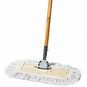Tidy Tools 12 Inch Cotton Dust Mop With Wood Handle