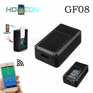 Gf07 gf08 Mini Spy Gps gsm Tracker Real Time Tracking Locator Device For Car