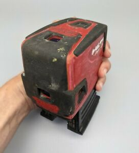 Hilti Pmp 45 Plumb Square Level Self Leveling 5 Point Laser Tested Good Cond