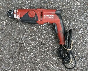 Hilti Te 2 Rotary Hammer Drill 120v Electric Corded Tested Good Cond