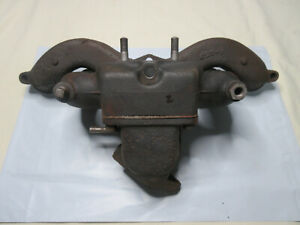 2 Gpw Willys Mb Jeep Intake Manifold A1163 And Exhaust Manifold