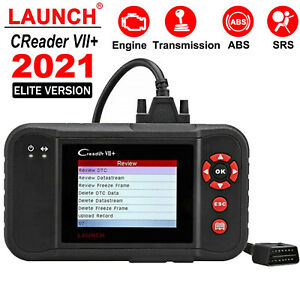 Launch X431 Vii Obd2 Diagnostic Scanner Code Reader Abs Srs Engine At Scan Tool