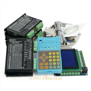 Cnc Kit Professional 3 Axis With Keypad Display Ema2 050d56 Stepper Drivers