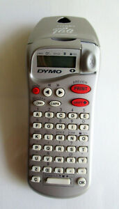 Dymo Esselte Letratag Silver Handheld Label Maker Portable 2001 W 1 Extra Lable