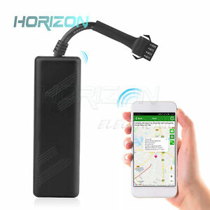 Tk205 Gps Tracker Device Car Motorcycle Gsm Locator Remote Control Real Time