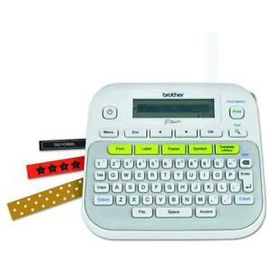 Brother P touch Pt d210 Compact Label Maker White
