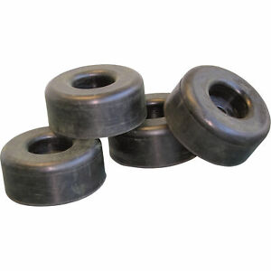 General Pump Pressure Washer Replacement Rubber Feet 2 5in Diax1in Set Of 4