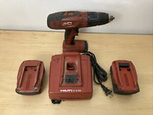 Hilti Sfh 18 a Cordless Hammer Drill 18v 1 2 Drive With Charger 2 Batteries