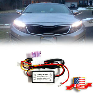 Car Automatic Led Daytime Running Light On Off Switch Module Box Relay Harness