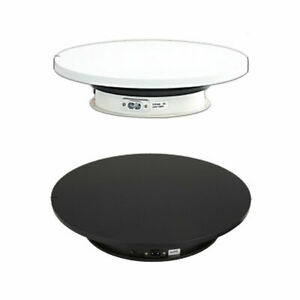 25cm Electric Rotating Turntable Jewelry Display Stand Toy Model Display Stand
