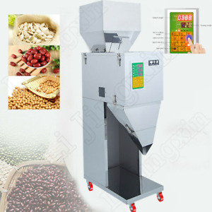 Automatic Powder Filler Machine Racking Filling Weigh Fit Tea seed grain 10 999g