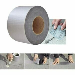 Sticky Aluminum Foil Butyl Rubber Repair tape Adhesive Waterproof For Roof Pipe