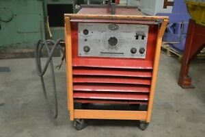 Airco 3ddrs 24 b Stick Welder 425 Max Amp With Roll Cart