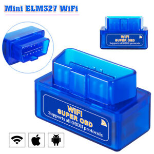 Wifi Blue Wireless Obd2 Obdii Elm327 Diagnostic Scanner For Iphone Android Top