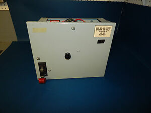 General Electric Ge 8000 Size 1 10hp Type Fvnr Motor Control Center Mcc Bucket