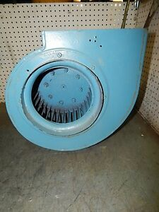 Squirrel Cage Dust Blower With 1 2 5 hp Reliance Motor P5sh1302w wo P5sh1302wwo